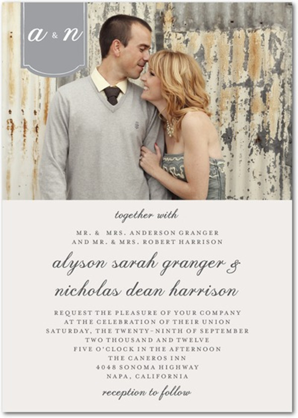 Top 5 Photo Wedding Invitations To Set The Mood For Your