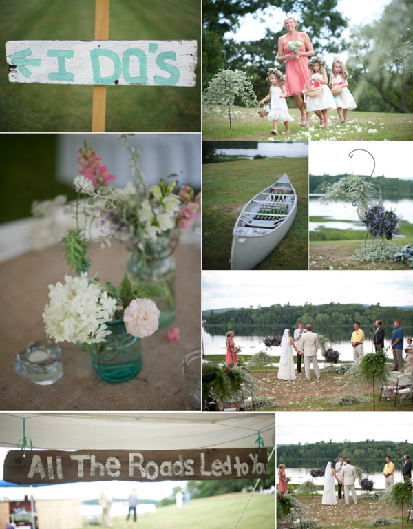 gorgeous rustic lake side ideas for outdoor weddings