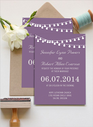 Top 10 October Wedding Colors And Invitations For