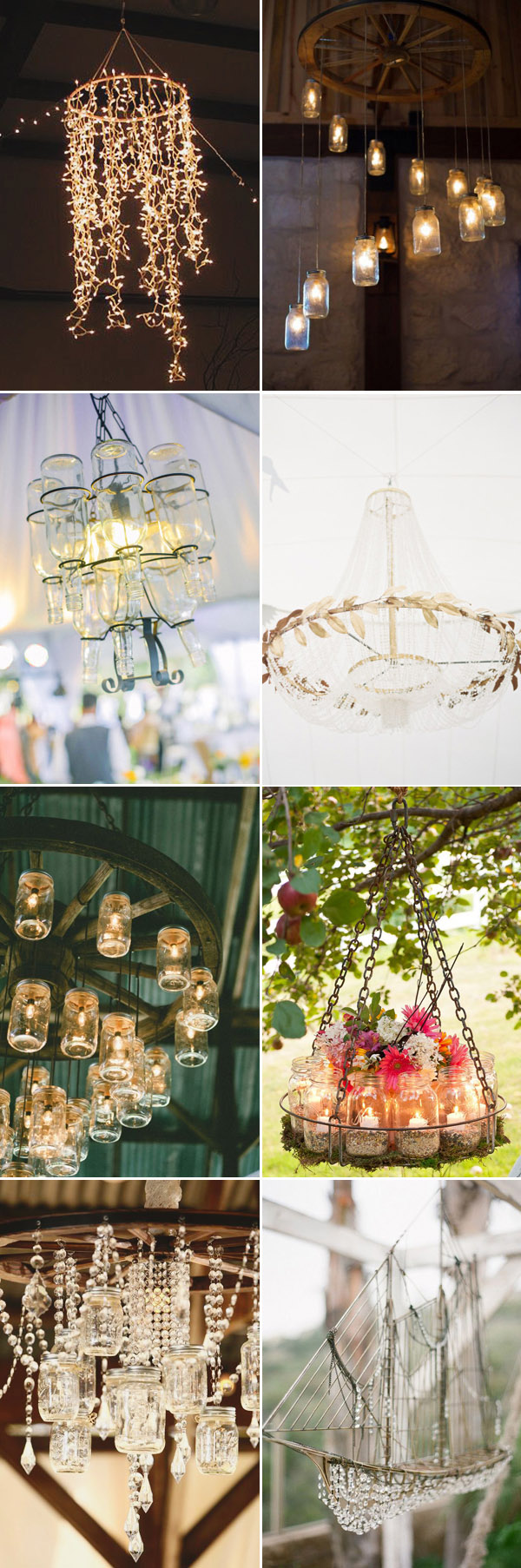 Unique Diy Chandeliers For Wedding Decoration Ideas