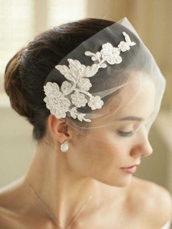 39 Stunning Wedding Veil Amp Headpiece Ideas For Your 2016