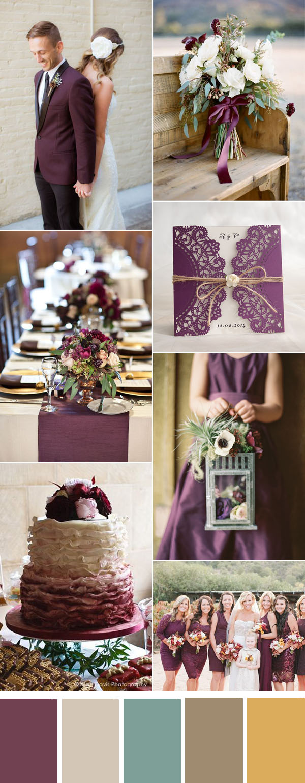 Eight Most Popular Plum Purple Invitations By Elegant