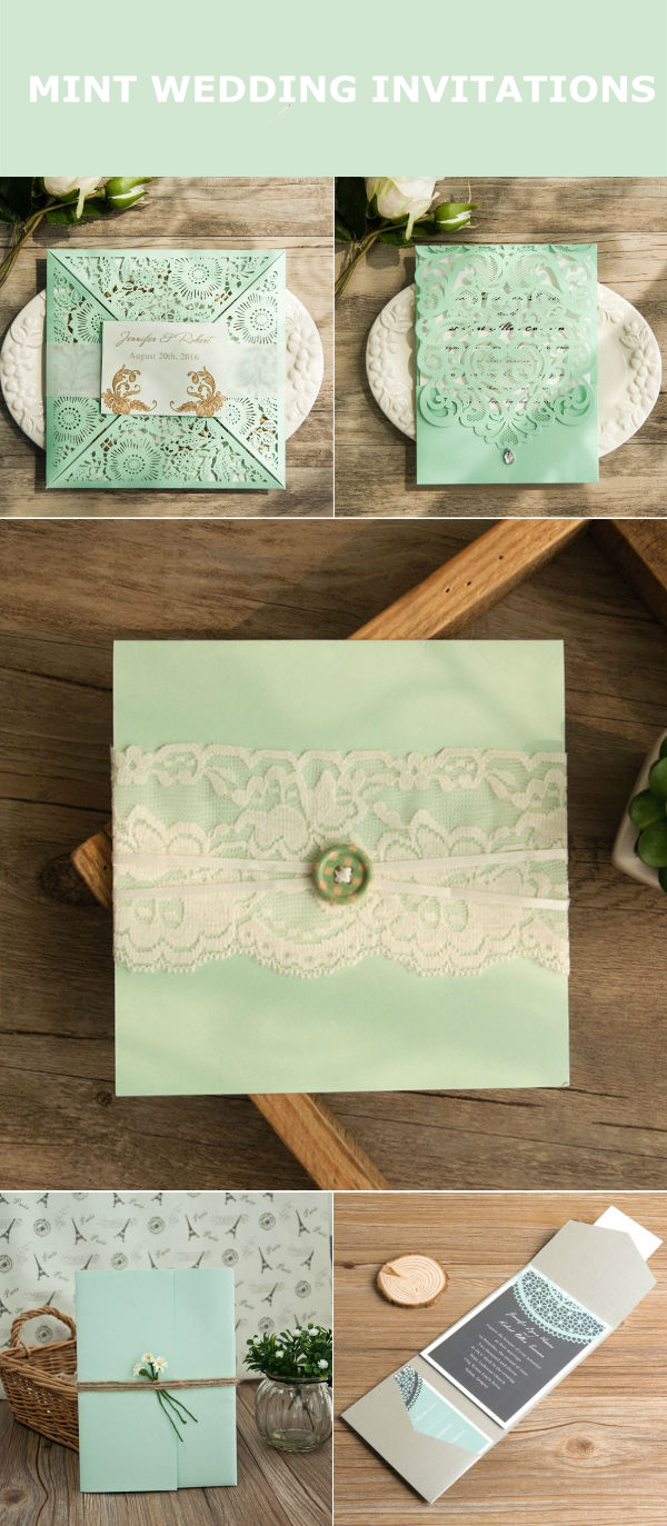 Wonderful Mint Wedding Color Ideas With