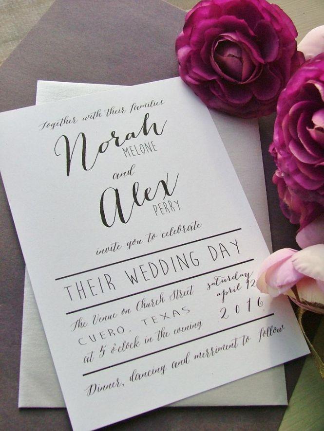 20 Por Wedding Invitation Wording