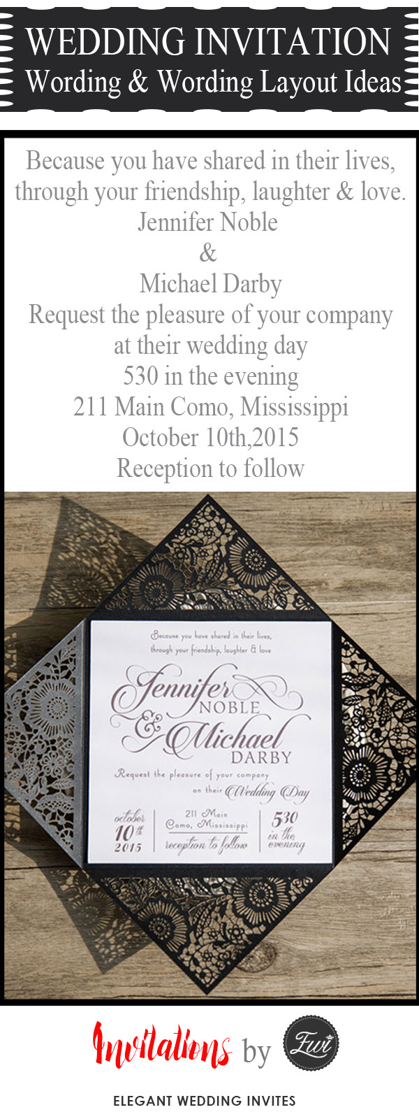 The Basic Rules And Tips For Wording Your Wedding Invitation