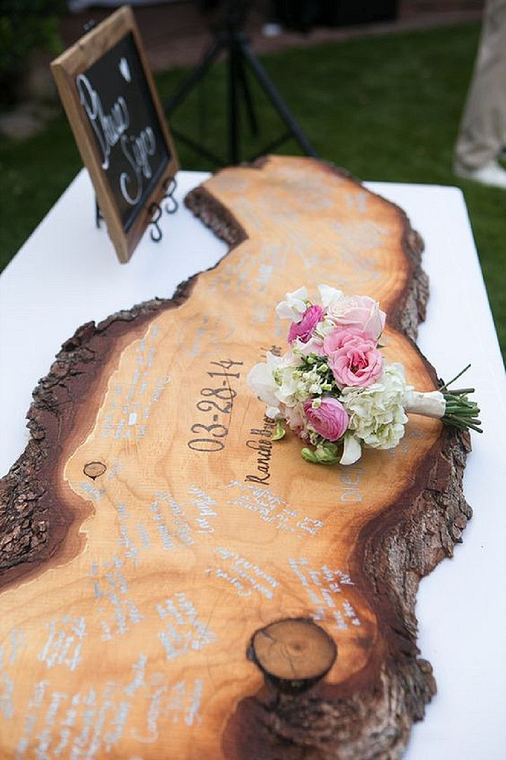 20 Must See Non Traditional Wedding Guest Book Alternatives Blog