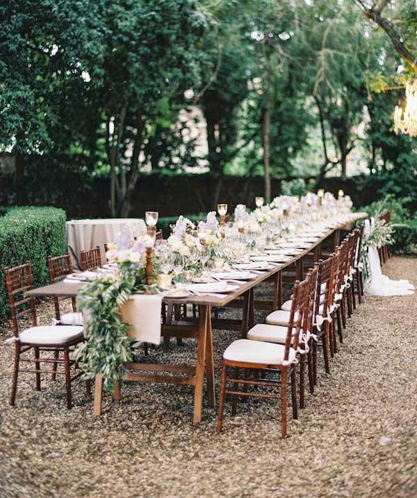 best Intimate Garden Wedding Ideas image collection