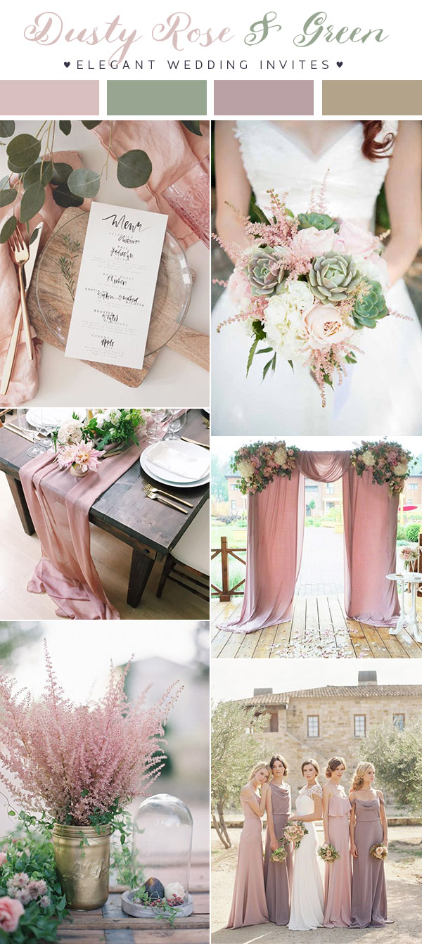 Updated Top 10 Wedding Color Scheme Ideas For 2018 Trends