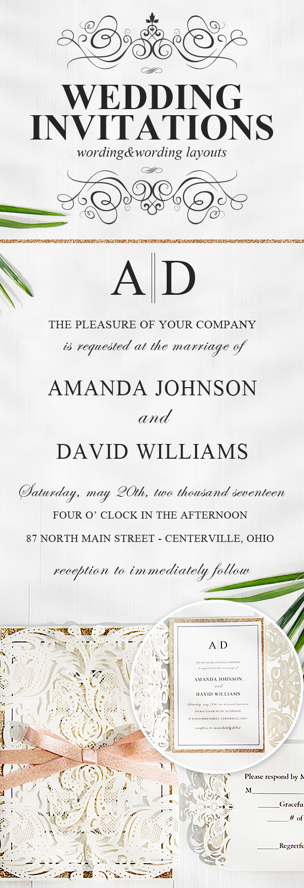15 Unique Wedding Invitation Wording Ideas