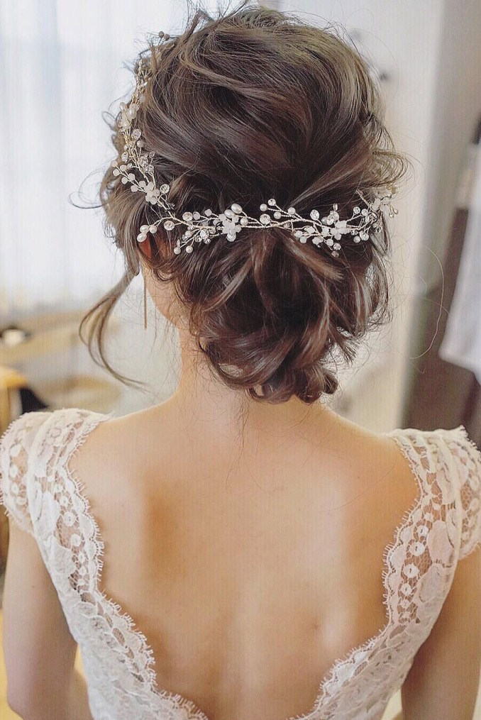 25 chic updo wedding hairstyles for all brides