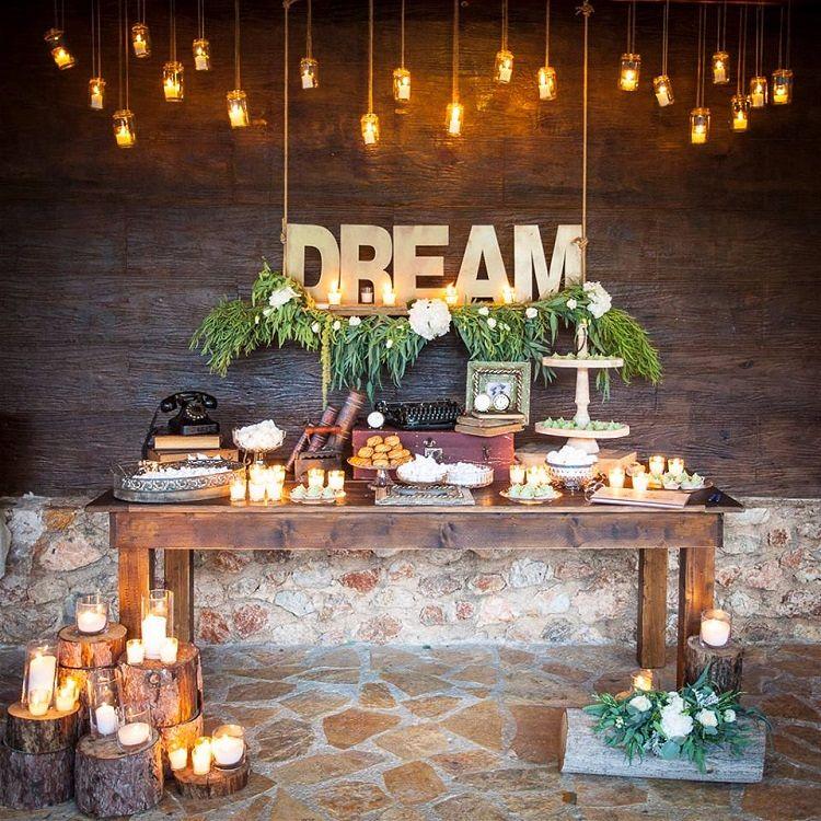 dessert table display ideas
