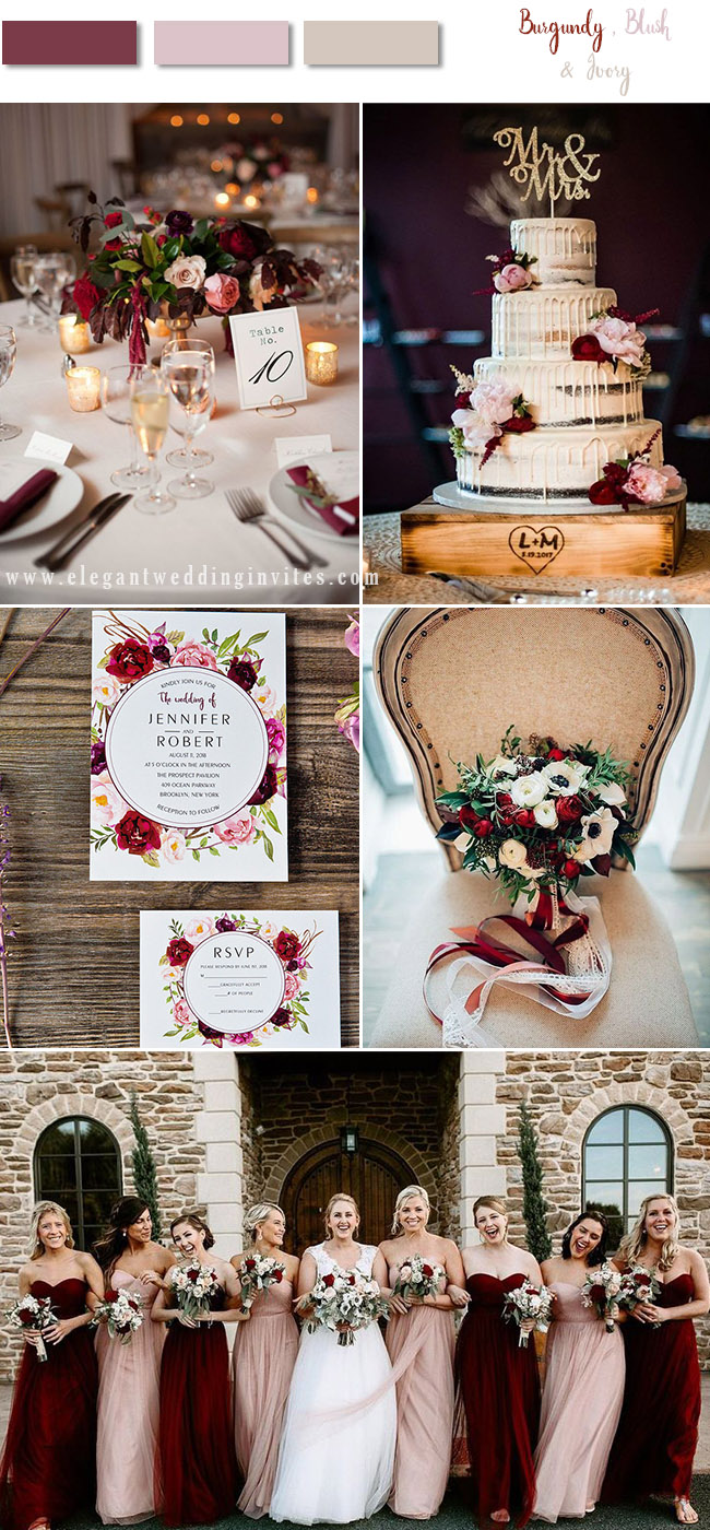 Fall Wedding Palette