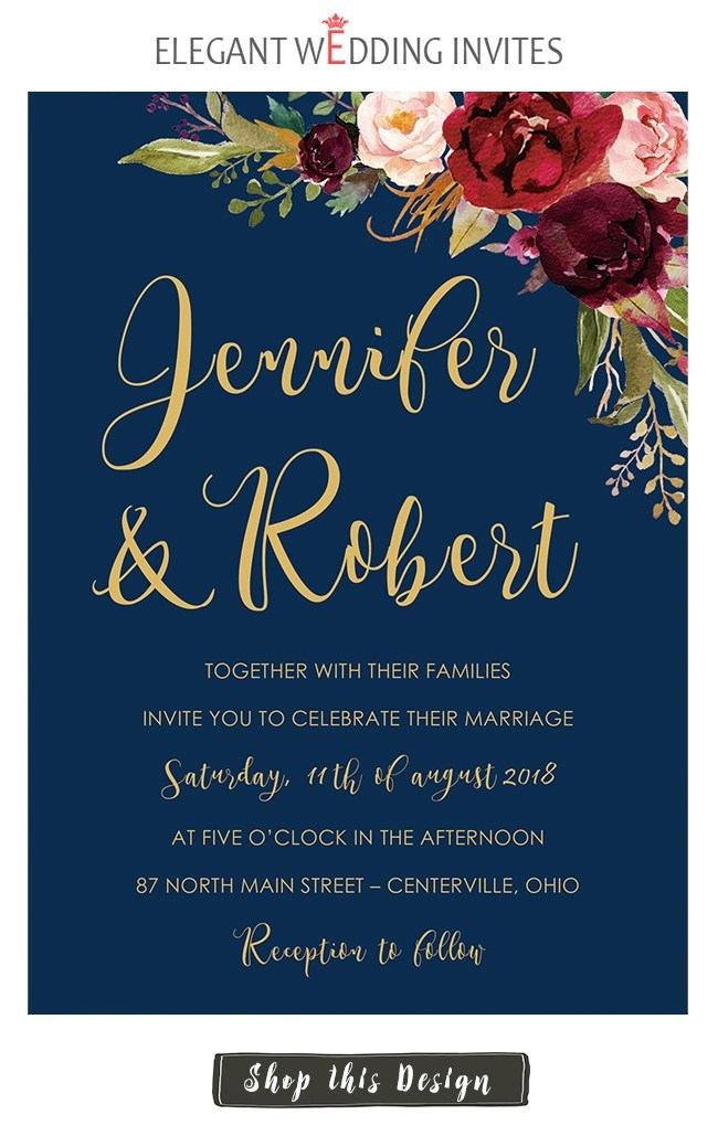 Formal Wedding Invitation Wording For