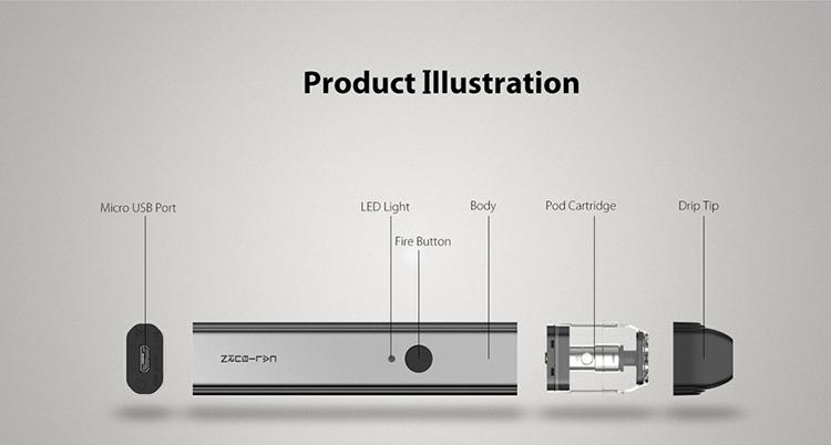 Uwell Caliburn Pod System Kit