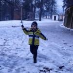 Liberi di giocare sulla neve con le scarpe Naturino