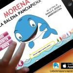 App per Morena La balena pancia piena