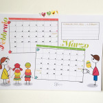 Calendario scolastico Febbraio Marzo
