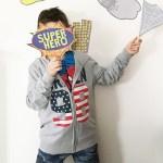 Super Hero Photo Booth con Terranova