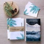 Book Design: I pensieri del bosco e le Otto Montagne