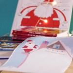 Lettera scaricabile di Babbo Natale e G come Giocare