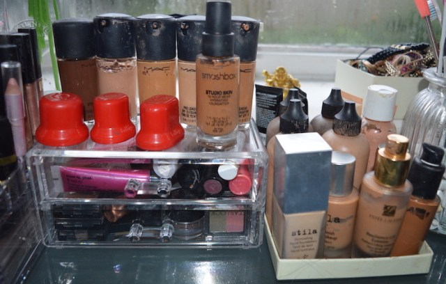 make up organisation tips eleise