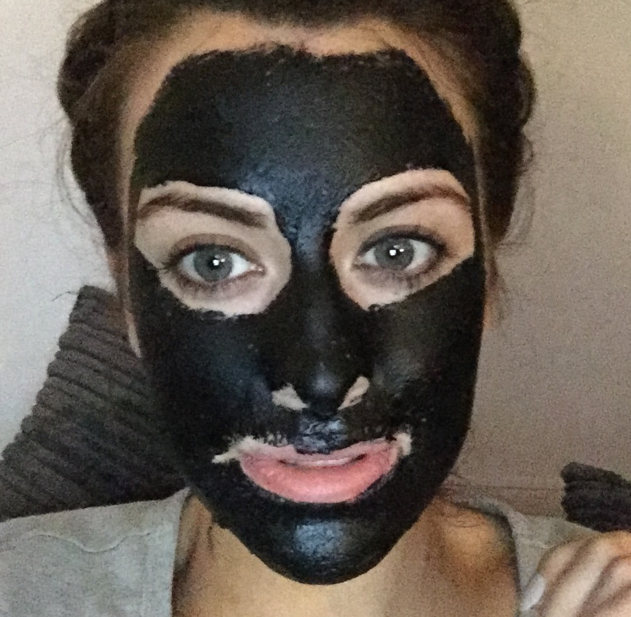 Diy Charcoal Face Mask: Charcoal And GLUE Face Mask?