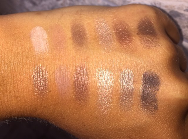 stila eyes are the window palette soul swatches review