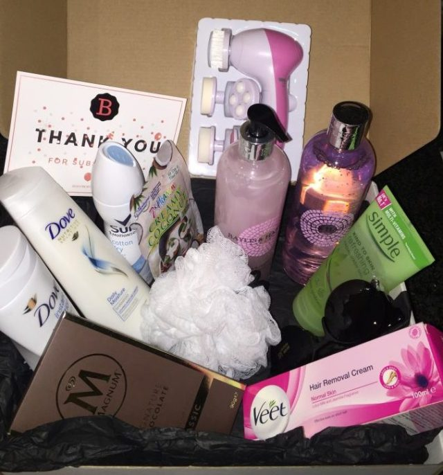 Body month september box