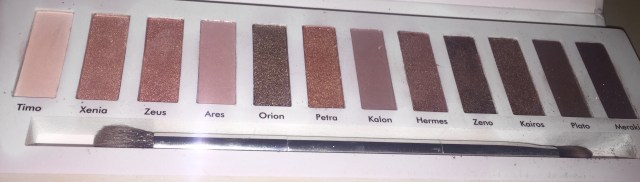 Contour Cosmetics Aphrodite palette - With Flash