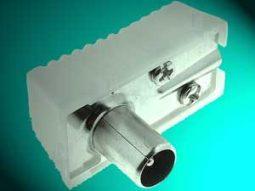Hier een voorbeeld van een coax-stekker.