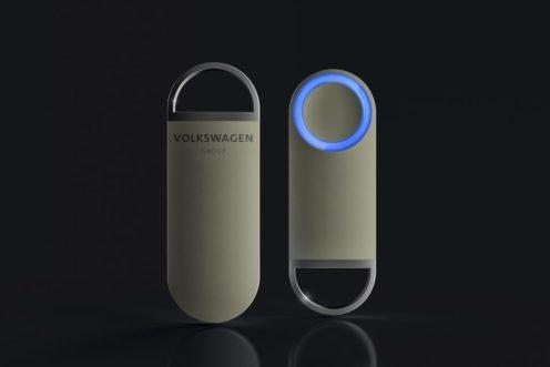 SEDRIC ? Das innovative Bedienelement mit einem Knopf zum Drücken und einem Ring mit farbigen Signalen.
