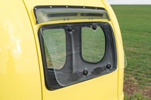 Elektrofrosch Elektro Kabinenroller Rückfenster