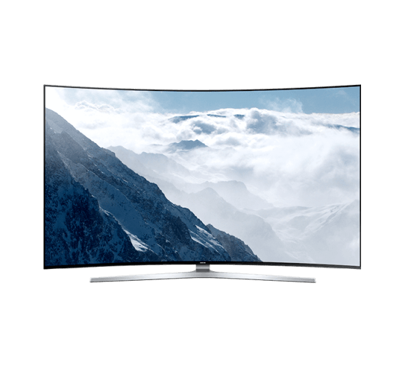 Prohnutá SMART LED televize Samsung