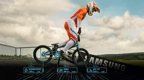 Samsung helpt BMX'er Nick Kimmann naar Olympisch goud