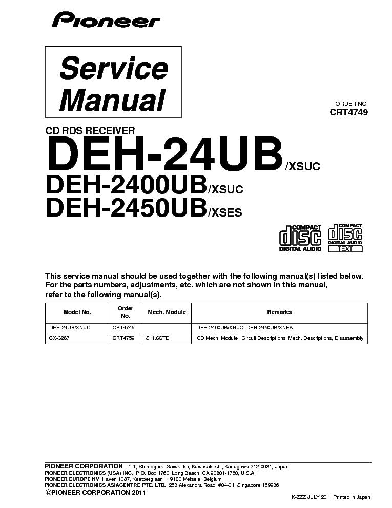 pioneer_deh 24ub_2400ub_2450ub_crt4749_parts.pdf_1?resize\\\=665%2C861\\\&ssl\\\=1 for pioneer radio deh 245 wiring diagrams pioneer car stereo Pioneer Deh 12 Wiring-Diagram at readyjetset.co