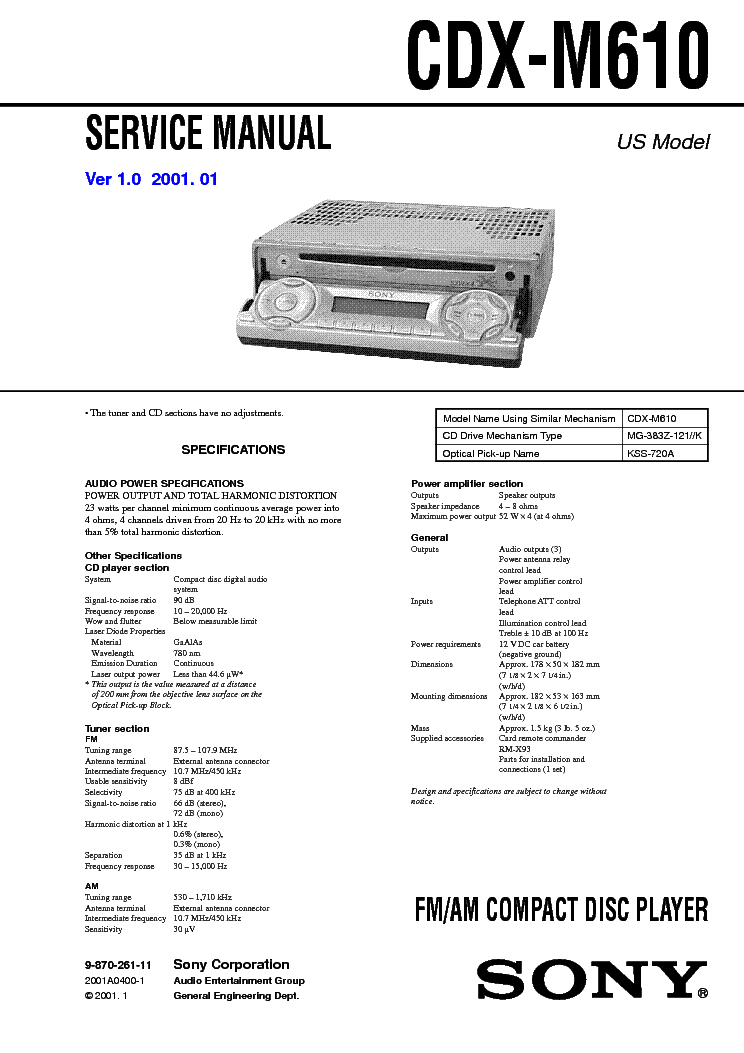 sony_cdx m610_ver 1.0_sm.pdf_1?resize\\\=665%2C941\\\&ssl\\\=1 sony cdx m610 wiring harness diagram electrical wiring diagrams