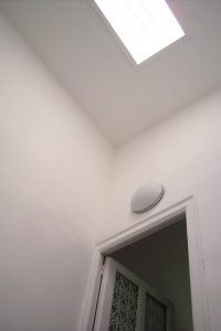skylight installed in a home