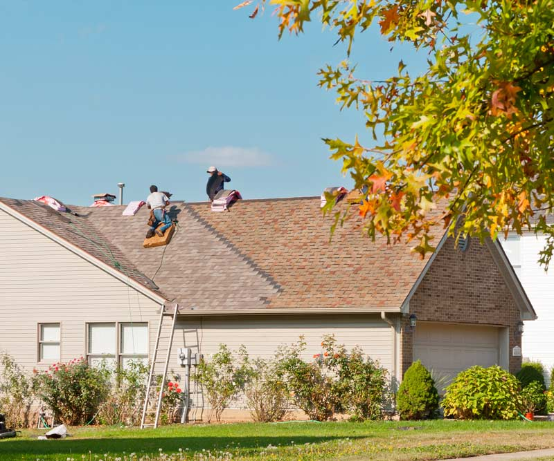 Pleasanton, CA roof install by Element Roofing.