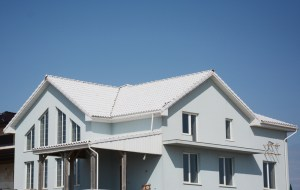 Image of house with title 24 roof installed