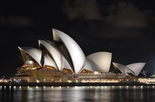 image of sydney opera house roof and shingles