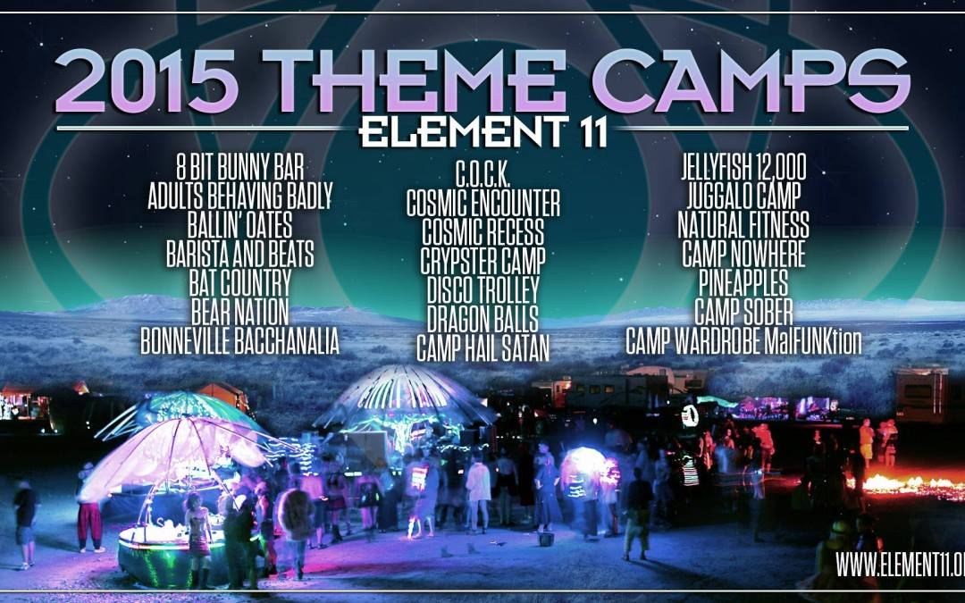 2015 Element 11 Theme Camps