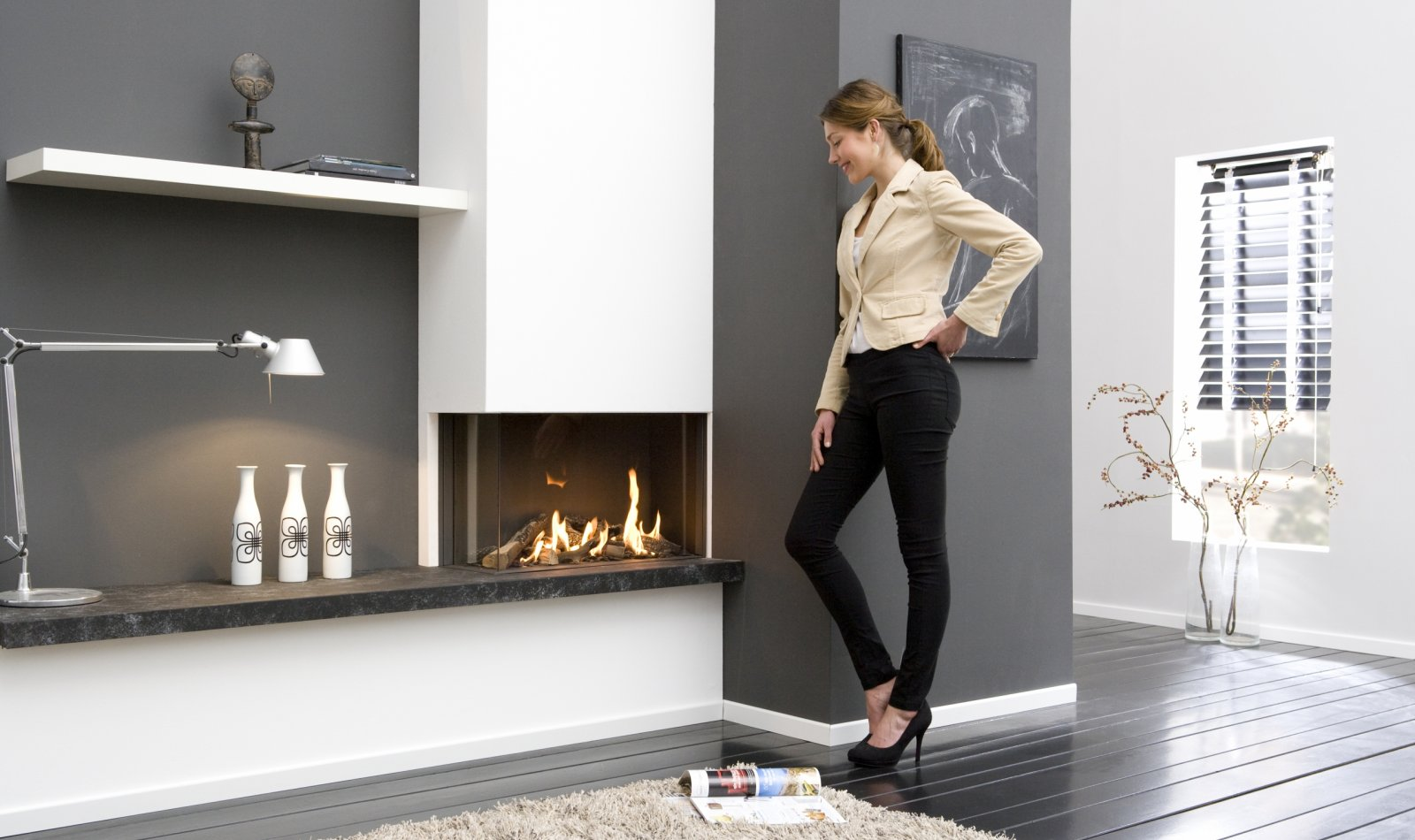 Gas Fireplaces And Electric Fireplaces