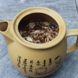 Teapot of Chinese herbs