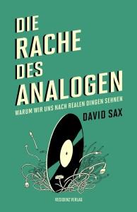 Cover Sax Rache des Analogen