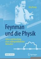 Cover Resag Feynman Physik