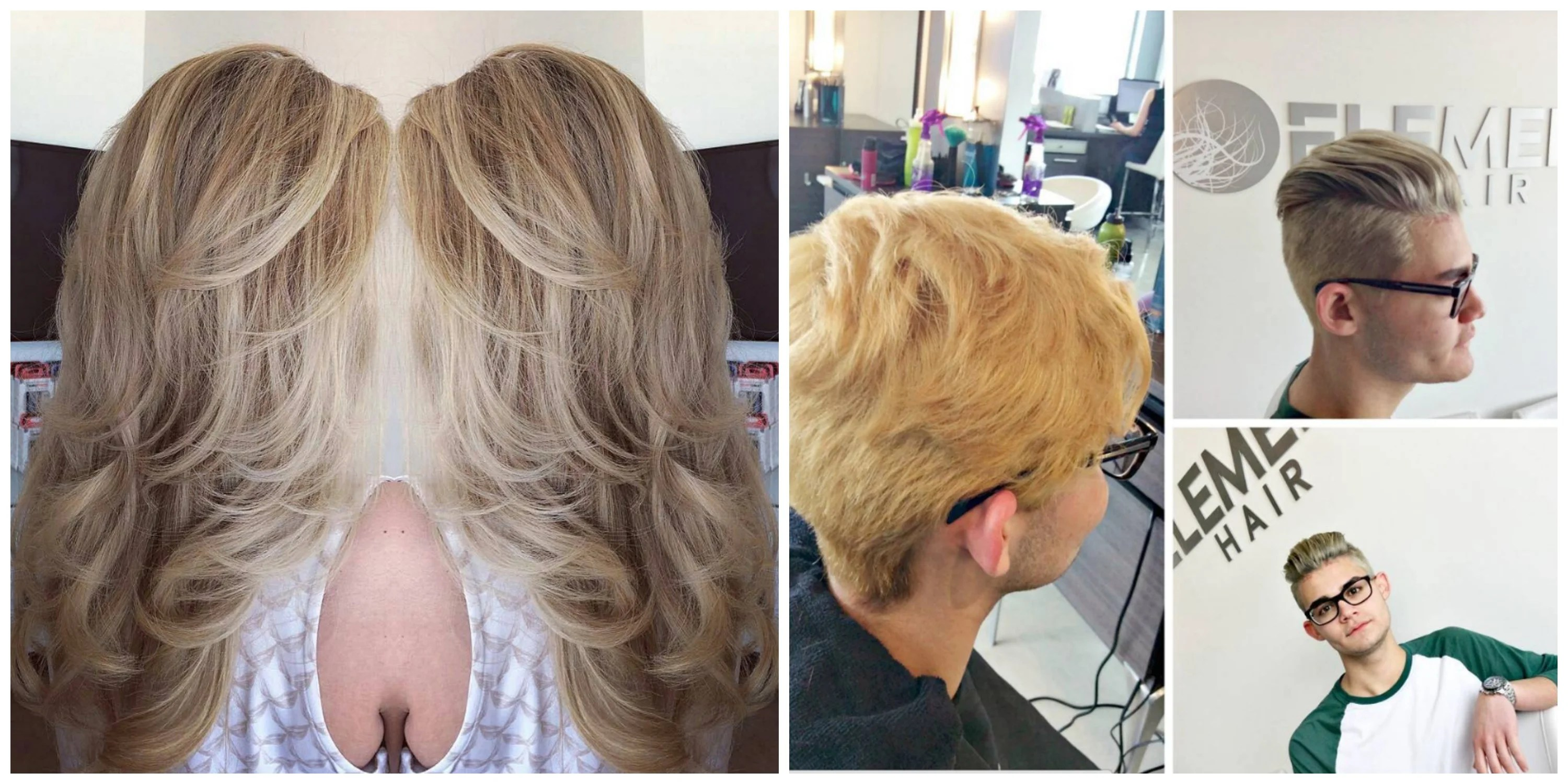 Cool Blonde Hair Colour Now At Element Hair