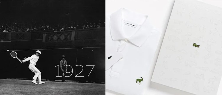 Lacoste Limited Edition Branding