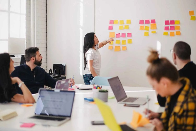 Organise Brand Values into themes