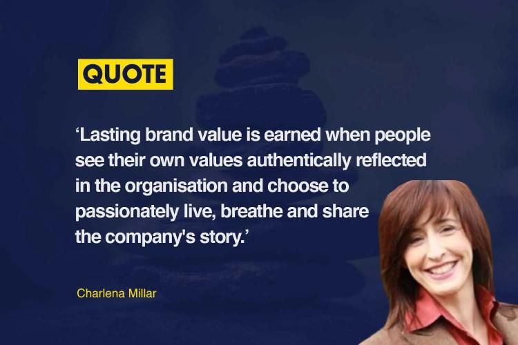 Charlena Miller brand values