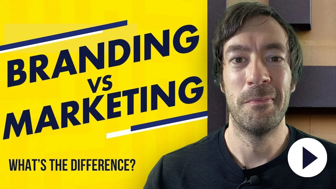 Branding VS Marketing - What's the difference and how do they grow your business.